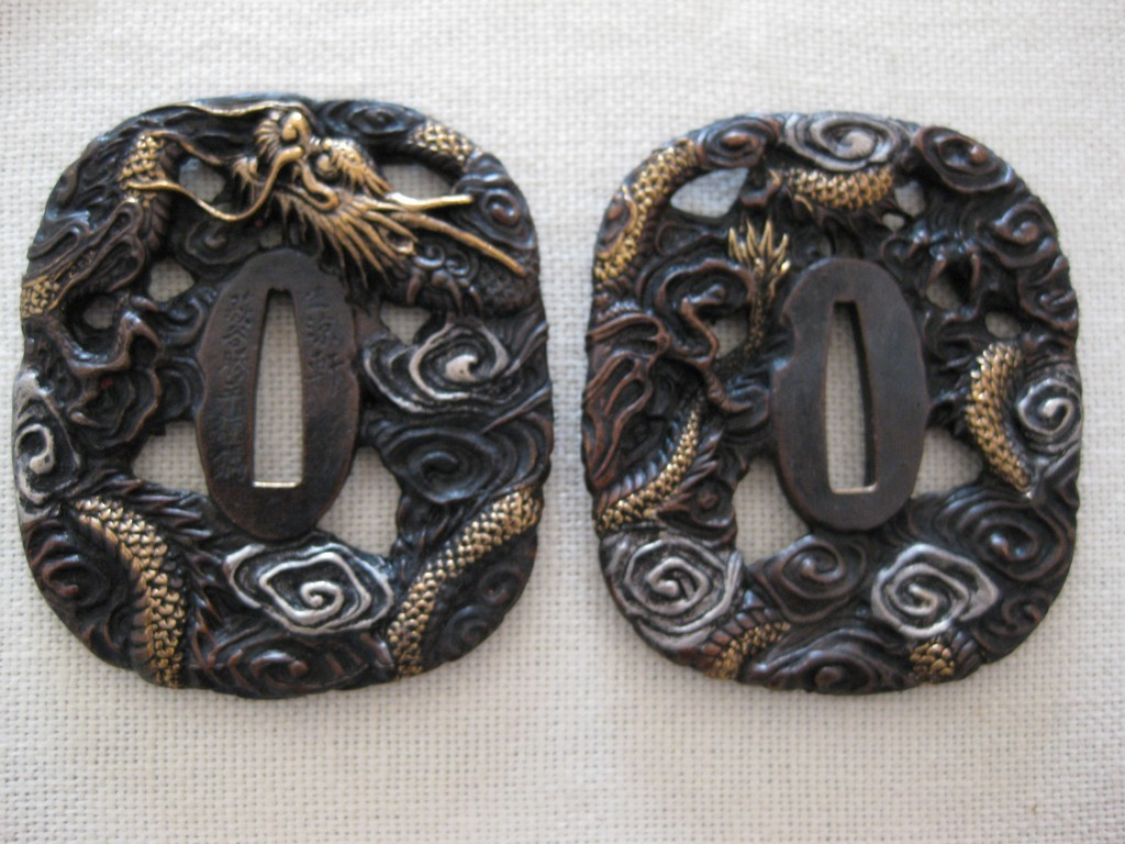 high quality copper tsuba (31)