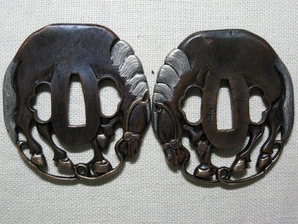 high quality copper tsuba (81)