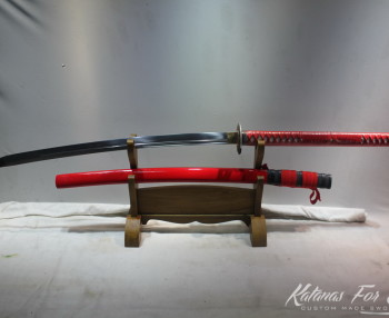 red Naginata