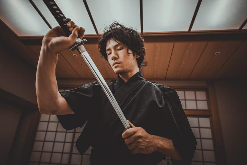 The Samurai and his Katana